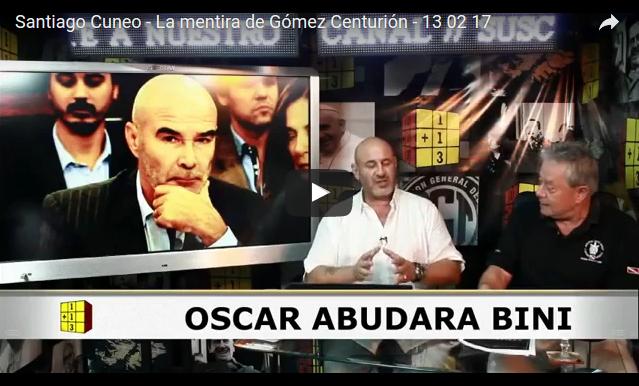 """La mentira de Gómez Centurión,Gómez Centurión, sobre los desaparecidos: """"No es lo mismo 8 mil verdades que 22 mil mentiras""""."""