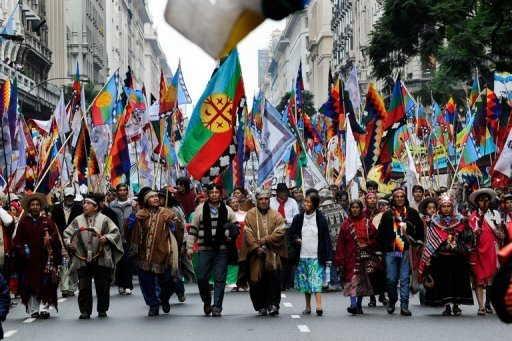El conflicto mapuche se esta usando de excusa para secesionar la Patagonia.