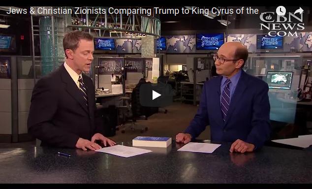 VIDEO: judíos y sionistas cristianos comparan Trump con el rey Ciro de laBiblia